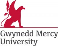 Gywnedd Mercy University logo with name and university emblem