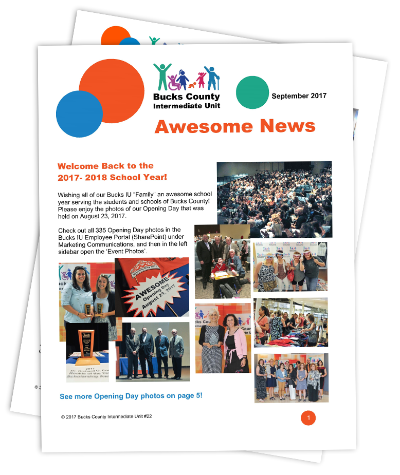 Awesome News newsletter front page
